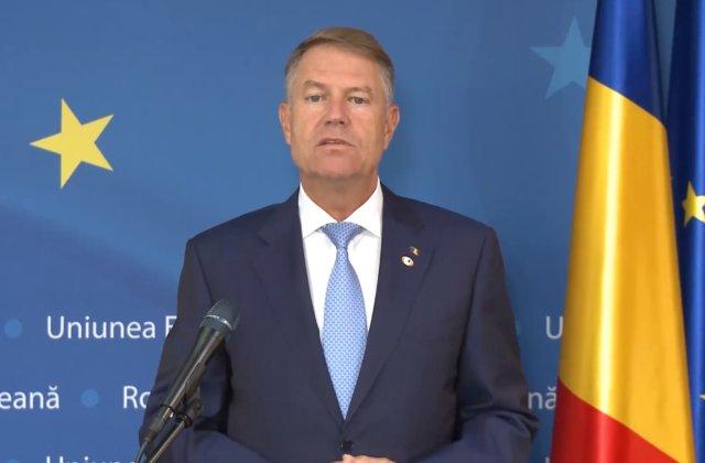 """Iohannis: """"Am obținut 80 de miliarde de euro pentru România"""""""