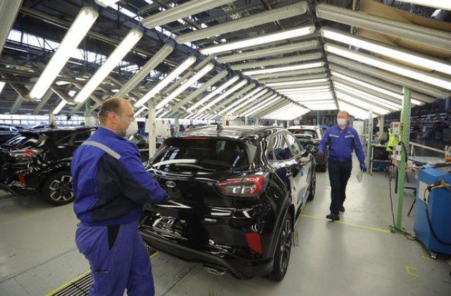 Uzina Ford de la Craiova va avea o nouă linie de presaj: mai multe componente vor fi produse local
