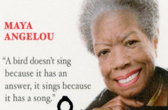 10 citate înțelepte de la Maya Angelou care îți vor da putere în clipele grele