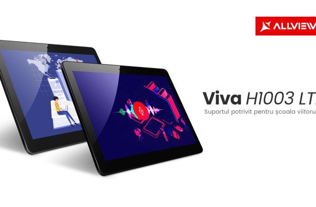 Allview lansează tableta Viva H1003 LTE, suportul potrivit pentru școala viitorului