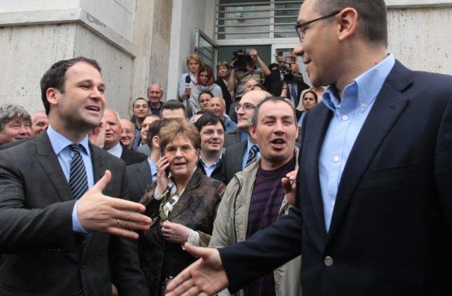 Victor Ponta și Robert Negoiță fac alianță pentru alegerile locale