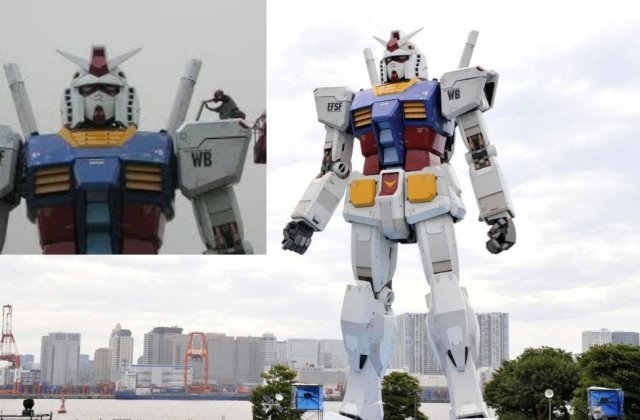 VIDEO Pacific Rim devine realitate: Robot umanoid de 18 metri înălțime a făcut primii pași