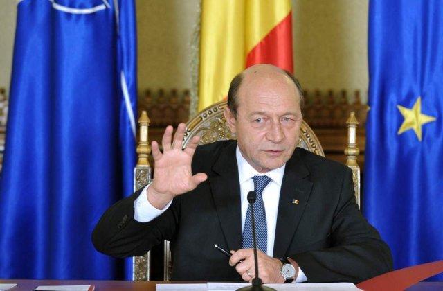 Basescu: Trebuie stabilit un alt termen pentru Schengen