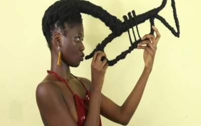 FOTO Sculpturi în păr: Acest...
