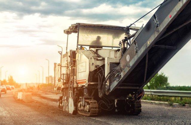 Imagini cu stadiul lucrărilor la drumul expres Craiova - Pitești: pe tronsonul doi construcția a ajuns la un grad de finalizare de 20%