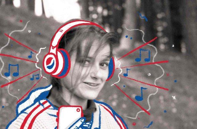 Pepsi Retro Studio - cea mai nouă campanie Pepsi