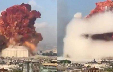 Explozie uriașă în Beirut: ce a cauzat deflagrația ce a făcut sute...
