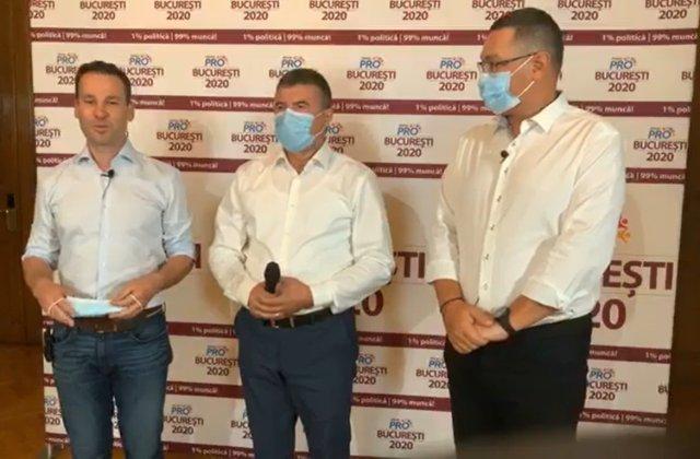 Victor Ponta și Robert Negoiță au prezentat candidații la primăriile din Capitală