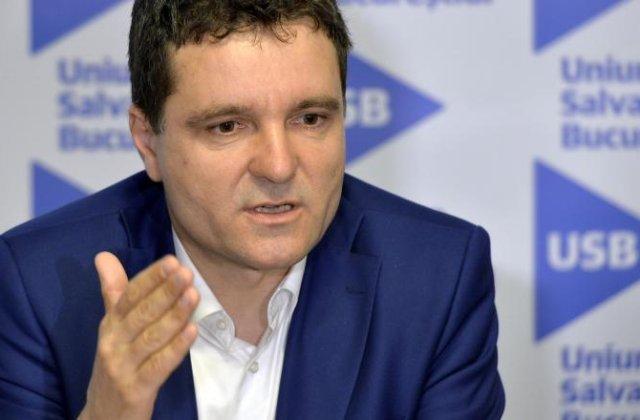 """Nicușor Dan, despre candidatura lui Tăriceanu: """"Nu aș vrea să dăm foarte multă importanță acestei știri"""""""