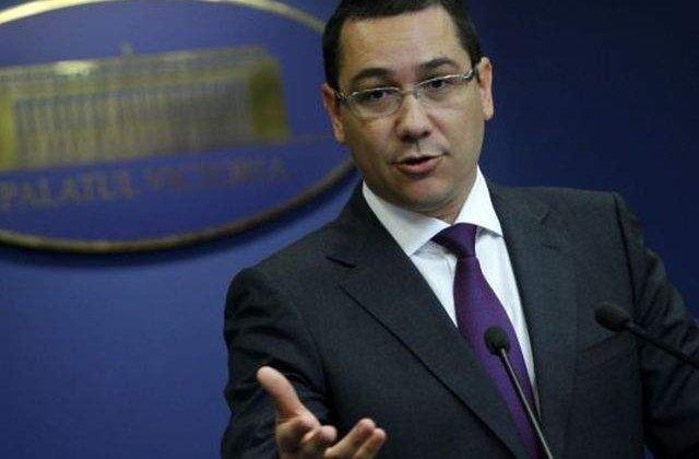 Ponta a cerut ministrilor sa reduca cu 15% cheltuielile