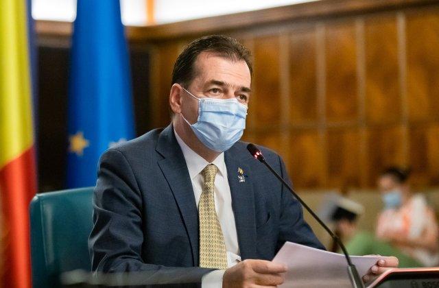 Ludovic Orban: Cel mai probabil vom prelungi starea de alertă, dar nu analizăm noi restricții