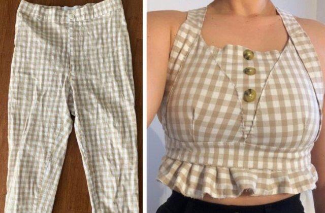 10+ persoane care și-au transformat hainele și obiectele vechi în lucruri prețioase