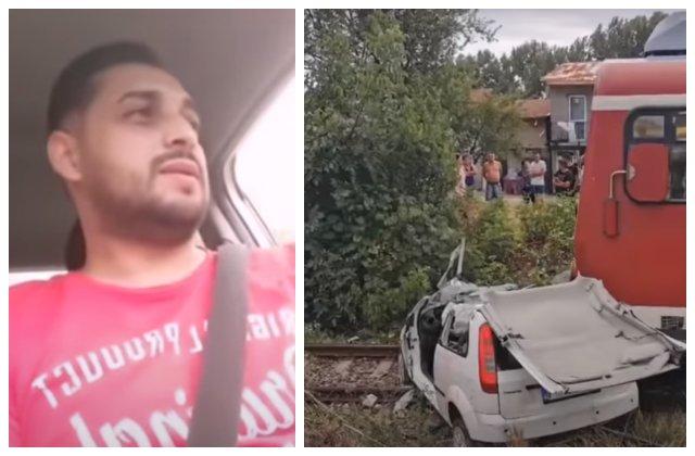 Cântăreț de manele, spulberat de tren. Și-a transmis moartea live pe Facebook