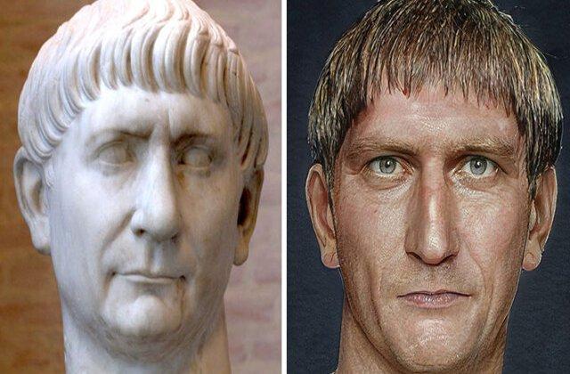FOTO Cum arătau în realitate împărații Imperiului Roman