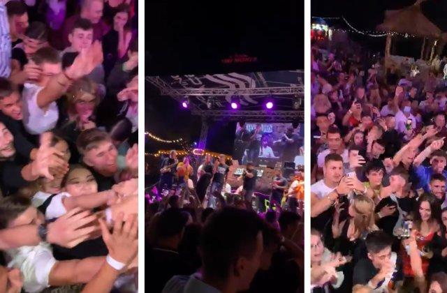 VIDEO Sute de persoane au participat la concertul manelistului Tzanca Uraganu