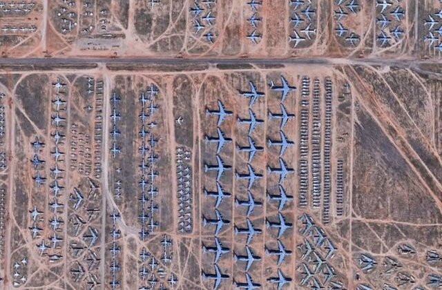 10 imagini surprinse de Google Earth care te vor face să vezi lumea cu alți ochi