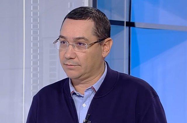 """Ponta: """"Noi, Pro România, ne luptăm cu PNL și PSD se luptă cu noi"""""""