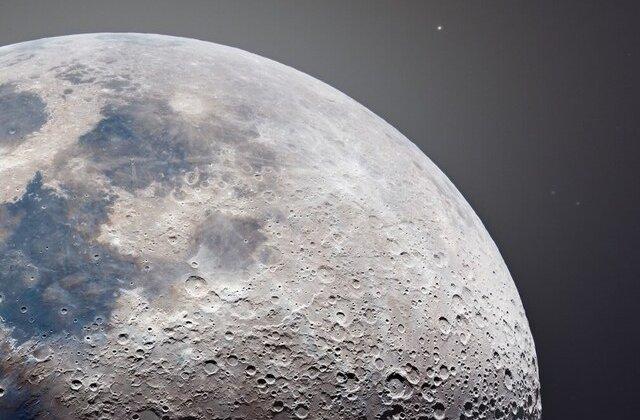 FOTO Imagini spectaculoase cu Luna plină. Poți vedea fiecare crater