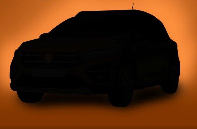 Dacia a publicat un teaser video pentru noile generații Sandero și Logan