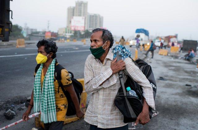 India, pe locul 2 în topul celor mai afectate țări. Se înregistrează peste 90.000 de cazuri Covid într-o singură zi