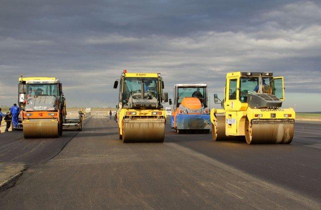 VIDEO Lucrările la primul tronson din autostrada Sibiu - Pitești au ajuns la un grad de realizare de 20%