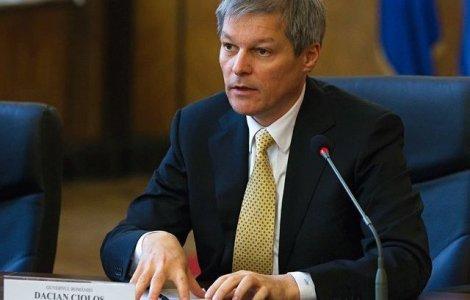 Dacian Cioloș cere demiterea Monicăi Anisie de la Ministerul Educației