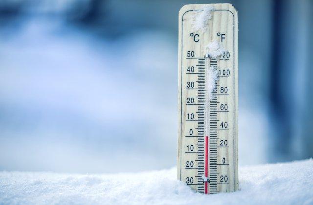 Cea mai scăzută temperatură din această lună, înregistrată la Miercurea Ciuc