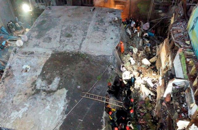 Cel puțin 10 persoane din India au fost ucise, după prăbușirea unei clădiri rezidențiale