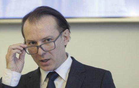 """Cîțu, după votul din Parlament: """"Nu lăsăm PSD să arunce România în..."""