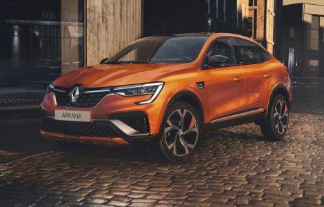 Renault Arkana ajunge în Europa în 2021: SUV-ul coupe va avea...