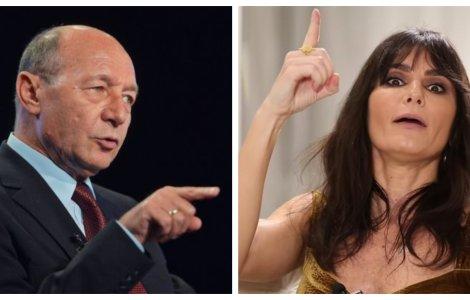 """Băsescu, despre Dana Budeanu: """"E de un ridicol absolut. O femeie..."""