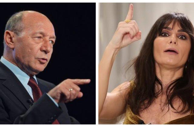 """Băsescu, despre Dana Budeanu: """"E de un ridicol absolut. O femeie fără cultură"""""""
