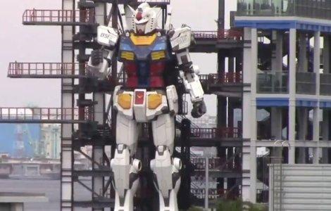VIDEO Un robot de 20 de metri înălțime a fost testat în Japonia