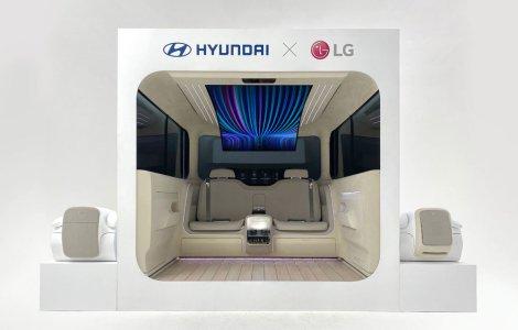 Interiorul mașinilor electrice în viziunea Hyundai