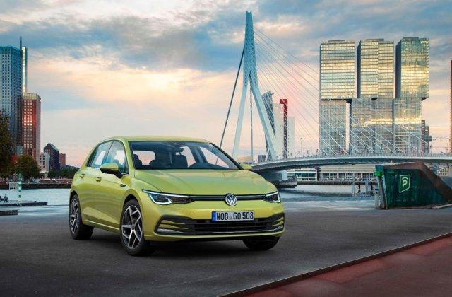 Volkswagen Golf rămâne cea mai vândută mașină în Europa: peste 22.000 de unități în luna august. Dacia Sandero este pe locul 6