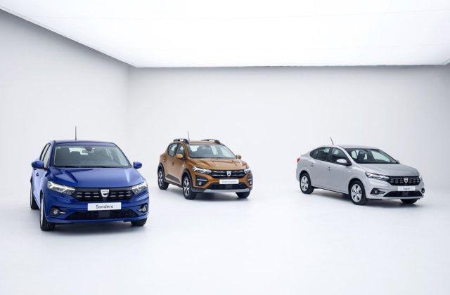 Noile Dacia Logan, Sandero și Sandero Stepway: design modern, interior îmbunătățit, cutie automată CVT și fără motorizări diesel