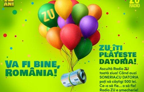 """Va fi bine, România!"" - Radio ZU aniversează 12 ani de la prima..."