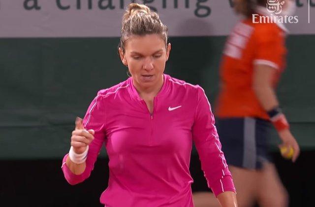 """Simona Halep, eliminată de la Roland Garros de poloneza Iga Swiatek. Halep: """"A jucat incredibil"""""""