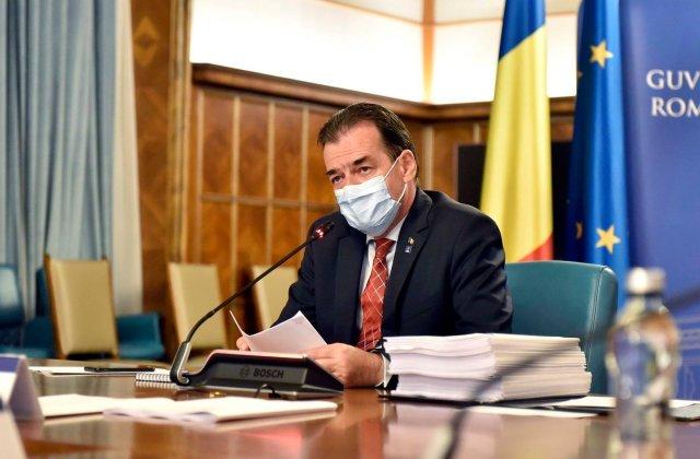 Ludovic Orban, suspect de coronavirus. Premierul și-a suspendat toate întâlnirile fizice cu alte persoane
