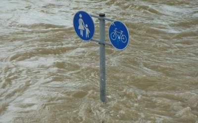 Inundațiile au făcut ravagii...