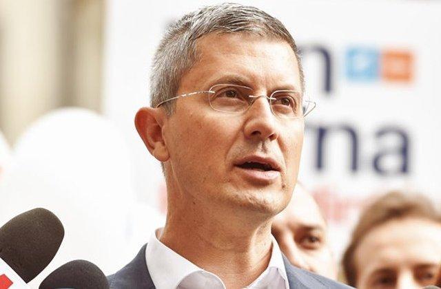 Dan Barna deschide lista de candidaţi USR PLUS pentru Camera Deputaţilor în Sibiu