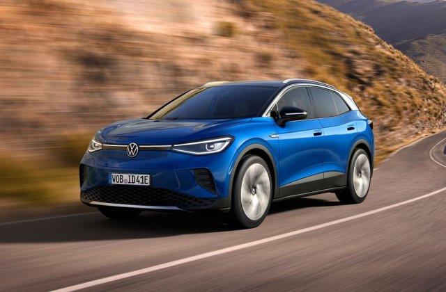 Prețuri Volkswagen ID.4 1st în România: start de la aproape 45.500 de euro pentru SUV-ul electric