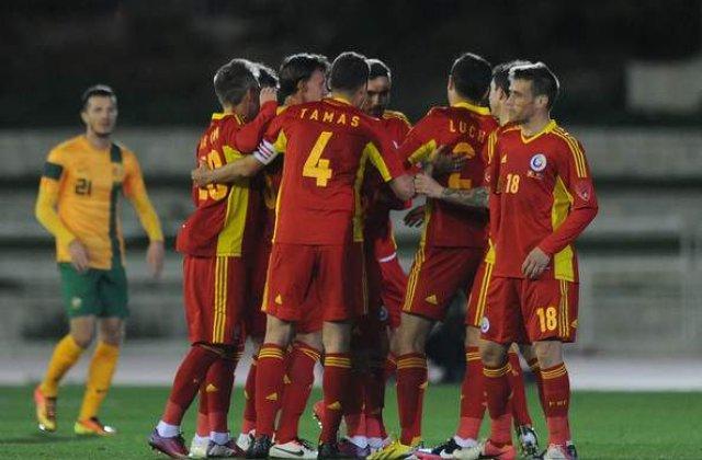 Echipa nationala a Romaniei, locul 34 in clasamentul FIFA pe luna martie