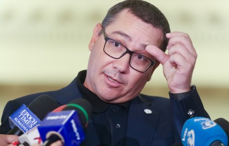 """Victor Ponta, despre prefectul Capitalei: """"Prostia și incompetența..."""