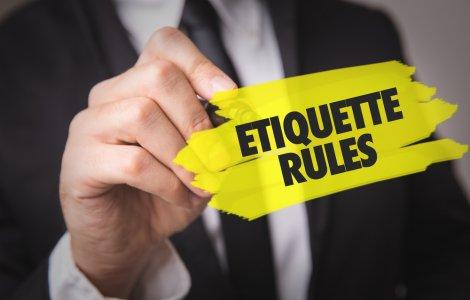 Top 6 reguli de etichetă pe...