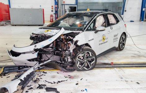 Volkswagen ID.3 a obținut 5 stele la testele Euro NCAP