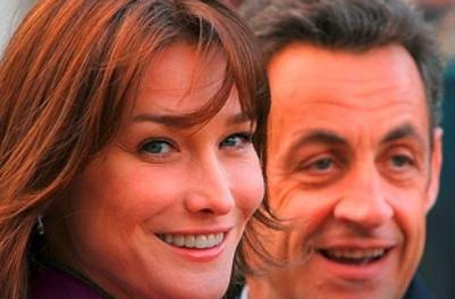 Sarkozy i-a cerut Carlei sa nu se mai amestece in problemele politice