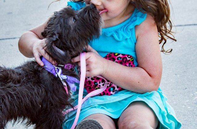 O fermă oferă ocazia copiilor cu dizabilități să facă terapie cu animăluțe cu aceeași condiție