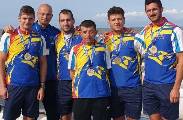 România a obținut medalia de bronz la competiția de canotaj European Coastal Challenge 2020