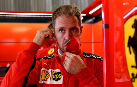 Vettel acuză Ferrari că Leclerc primește tratament preferențial